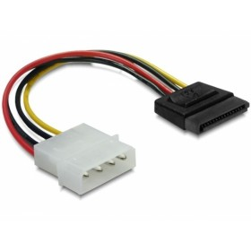 Delock Stromkabel - Kabel - Digital / Daten, Strom / Netzteil Stromkabel 0,12 m - 4-polig - Schwarz, Rot, Gelb