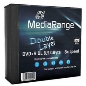 MEDIARANGE 5 x DVD+R DL - DVD+R9 8x - 8,5 GB 240min - 5er Slim Case