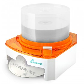 MediaRange CD/DVD-Dispenser - orange