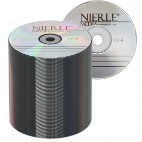 CD-R 80 Min/700 MB NIERLE Edition 52x ECO-Pack 100 pieces