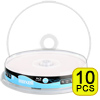 Blu-ray Disc Maxell BD-R 25 GB, 1-4x Speed bedrukbaar (fullprintable) in Cakebox , 10 stuks