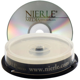 Blu-ray Disc NIERLE Edition BD-R 25 GB, 1-4x Speed in Cakebox 10 St�ck