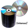 CD-R 80 Min / 700 MB Intenso 52x A-Grade utan tryck ECO-Pack 100 st