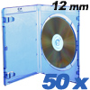 Blu-ray Custodie per DVD Prodye 12 mm bl� - 50 pezzi