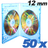 Blu-ray DVD-doublecases Prodye 12 mm Blue  - 50 pack