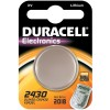 Duracell Lithium Button Cell, CR2430 / DL2430 / 5011LC / E-CR2430, 3V - 1 piece