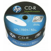 EUR 6.99 - HP CD-R 80 Min/700 MB 52x fullprintable Inkjet-Printable NO ID in spindel 50-pack