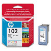 HP Ink Cartridge HP 102, Original, 23 ml, 120 Pages, Photo gray